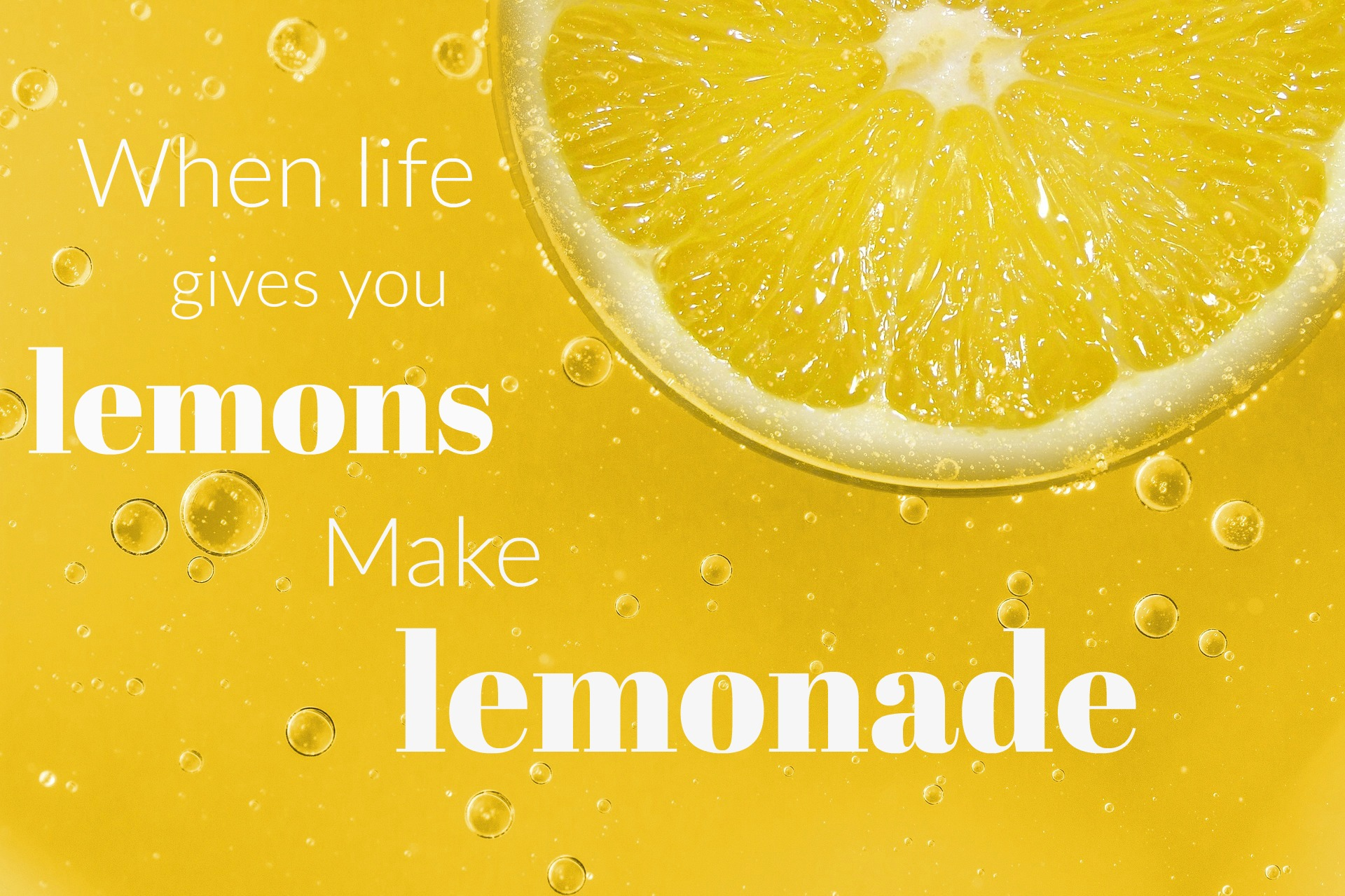 When Life Gives You Lemons | Poem and Object Lesson on Attitude